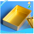 CNC gold plating RF laser cavity enclosure 1