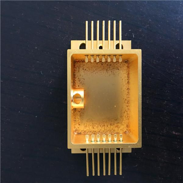 CNC gold plating RF laser cavity enclosure 5
