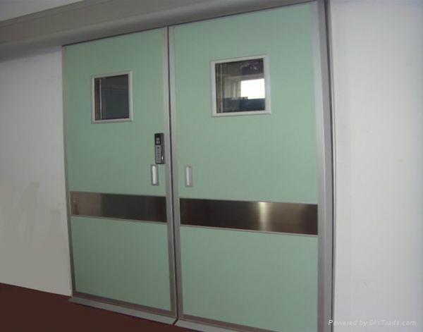 Guangzhou steel hospital doorclinic door 1
