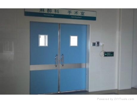 Guangzhou steel hospital doorclinic door 2