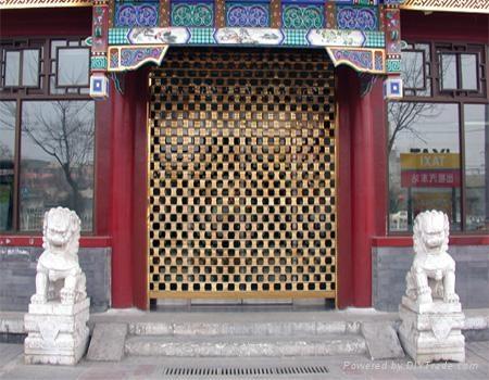 ga  anized steel roller shutter door 2
