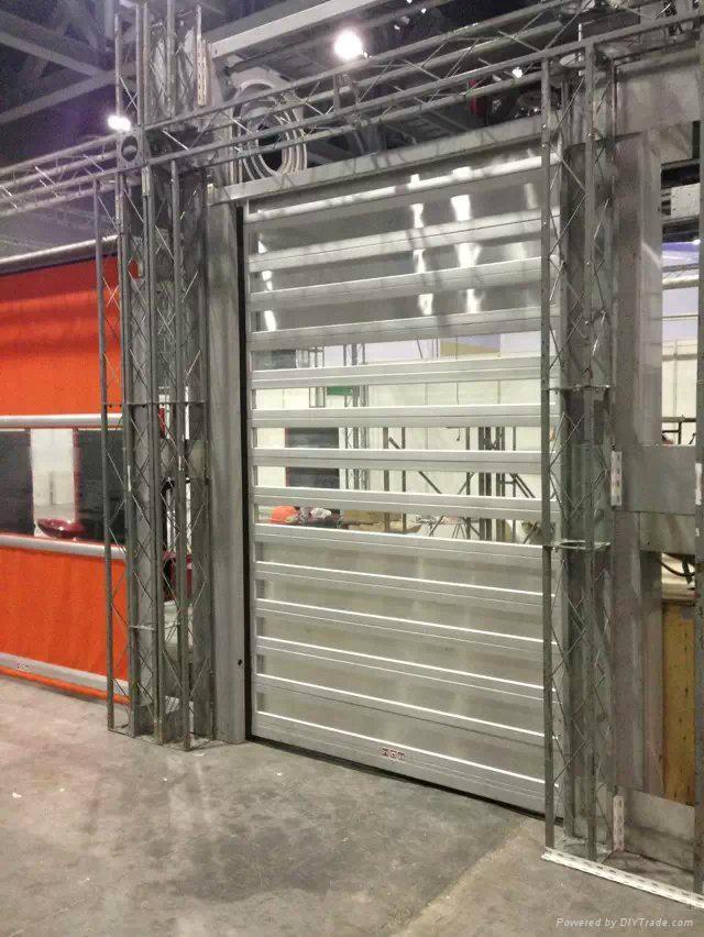 PVC roller shutter door 1