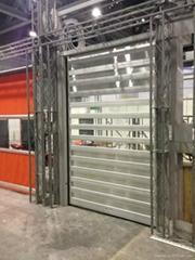 PVC roller shutter door