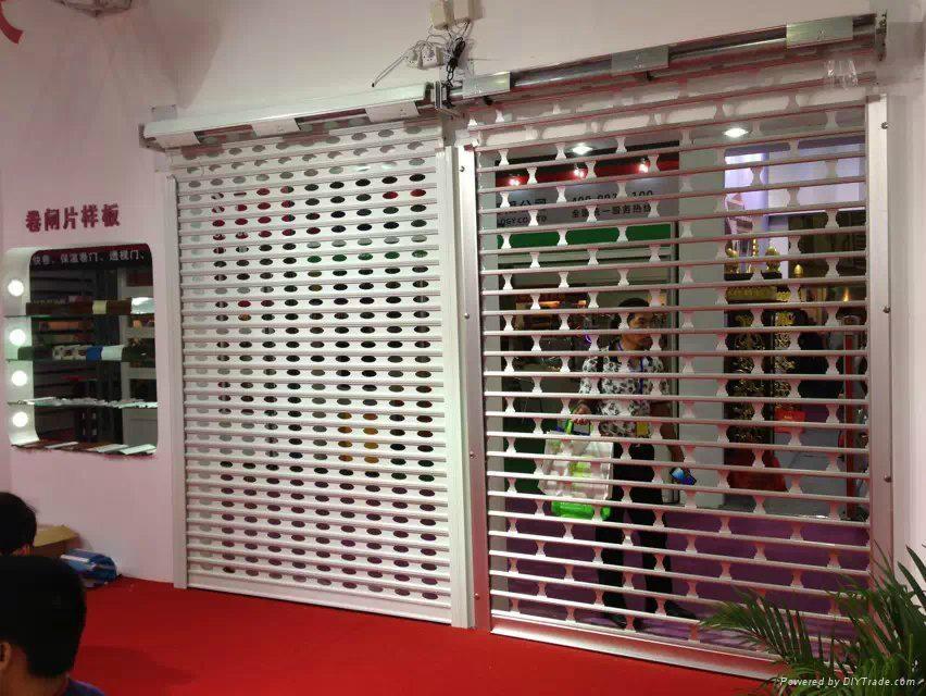 PVC roller shutter door 4