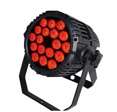 LED waterproof par light with 18x10w 4in1 quad color for outdoor