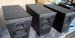 Pro sound system, pro audio MDF paint speaker