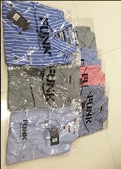 Women's or Men's pure cotton shirts