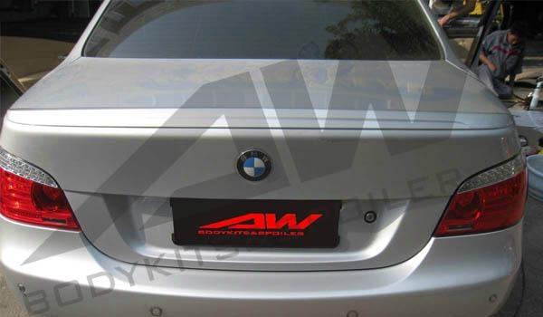 05 10 bmw e60 spoiler aw bmw e60m5 sp aw china Car exterior decoration accessories