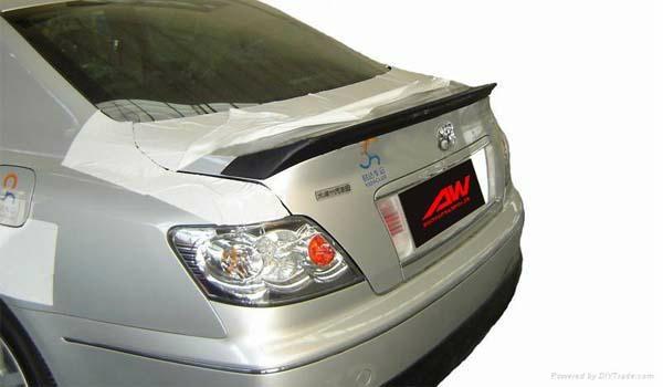汽车改装尾翼 06-09年锐志INGS款 PU尾翼
