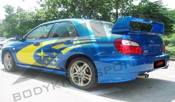 Subaru double PU spoiler 1
