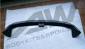 carbon fiber rear spoiler Golf 6 VOTEX