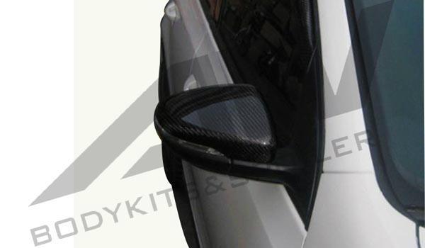 GTI 倒后镜罩 碳纤维