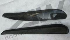 GTI 灯眉  碳纤维
