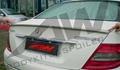 奔驰W204  C180/C200/PU尾翼 08-11年