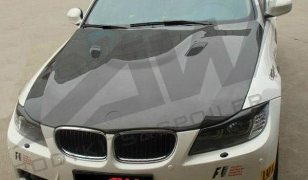 09 BMW 3 Series E90 M3 Engine Hoods 1