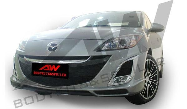 Mazda3 kenstyle pu bodykits aw md3 by aw china Car exterior decoration accessories