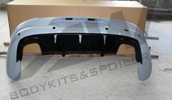 VW CC 4 exhausts rear diffuser 1