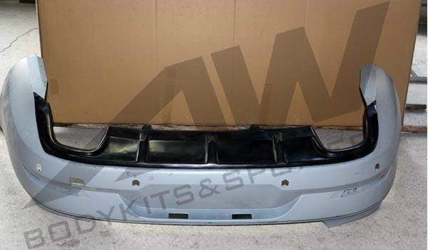 VW CC 4 exhausts rear diffuser 2
