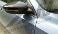 新帕萨特碳纤维倒后镜罩