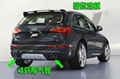 AUDI Q5 ABT Style rear bumper exhaust