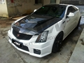 Cadillac CTS - V engine cover + front lip  1