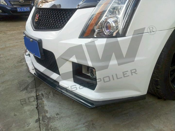 Cadillac CTS - V engine cover + front lip  2