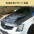Cadillac CTS - V engine cover