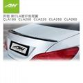奔驰新CLA 碳纤维尾翼 CLA180 CLA200 CLA220 CLA250 CLA260
