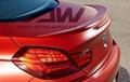 BMW 6 spoiler.PU tail (F12 / F13 / F06) M6 spoiler 4