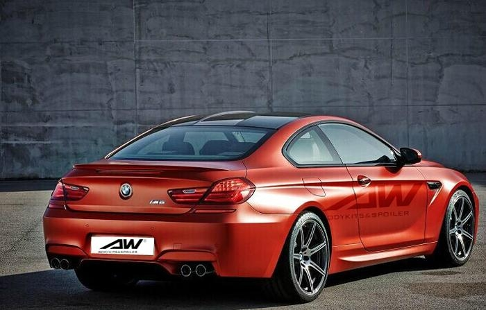 BMW 6 spoiler.PU tail (F12 / F13 / F06) M6 spoiler 1