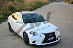 Lexus IS250F bodykits, after lip, side skirts, rear wing, small tail