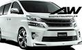丰田保姆车2012 VELFIRE MODELLISTA 款包围