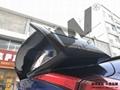 本田十代思域碳纤维尾翼 顶翼