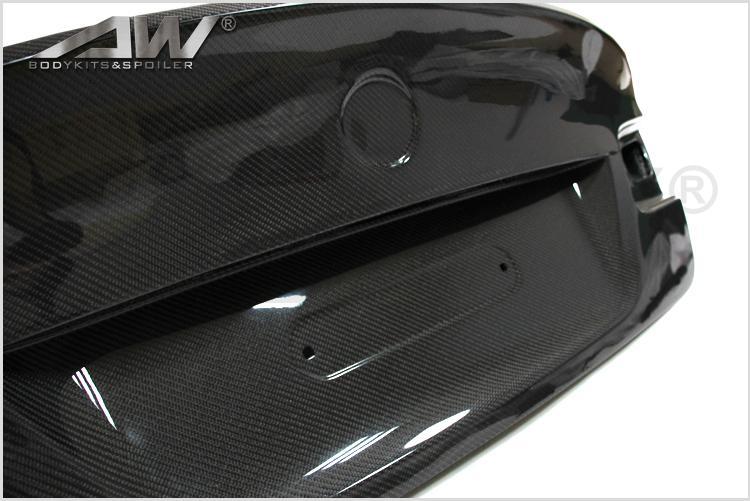 Carbon Fiber rear deck lid ForBMW E92 1