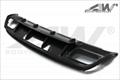Carbon fiber real bumper for Mercedes