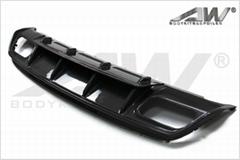 奔驰A45 碳纤维后唇(原厂款)