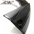 car carbon fiber tail fin Car