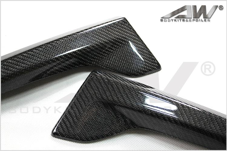 carbon fibre auto body kit lip/chin For HONDA ODYSSEY 2015 2