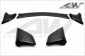 本田八代思域  三段式  碳纤维 尾翼 A款