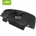 Subaru Impreza 8/9  carbon fibre Rear bumper  bumper lip  Car modification 1