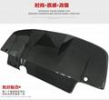 Subaru Impreza 8/9  carbon fibre Rear bumper  bumper lip  Car modification 5