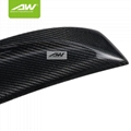 奥迪碳纤维尾翼A4 13-15 改装升级套件