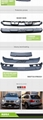 BMW X5 E70 Car modification Body Kits  rear roof wing spoiler Side skirt 6