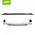 Honda Odyssey Body Kits Front Bumper Auto Front Lip Car modification
