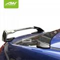 本田 十代思域 碳纤维 尾翼 顶翼 改装 升级 套件