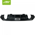 Honda Civic 10 carbon fibre Rear bumper