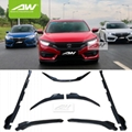 Honda Civic Body Kits Spoiler Side skirt