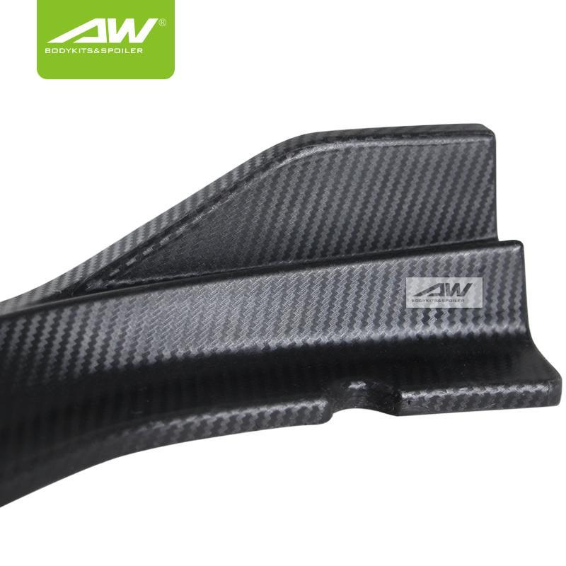 Honda Accord 2018 lip chin carbon fibre Car modification 4