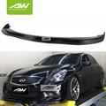 Infiniti G37 09-13 lip chin Body Kits carbon fibre Car modification