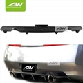 Infiniti G25 G35 Coupe 03-06 Car modification Rear bumper Body Kits